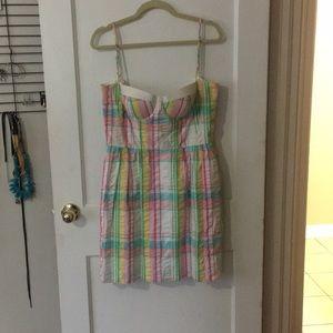 Lilly Pulitzer bustier dress (broken zipper)